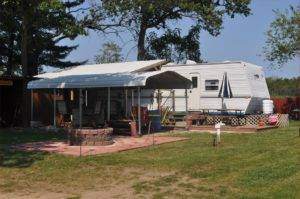 RV Exterior Landscaping