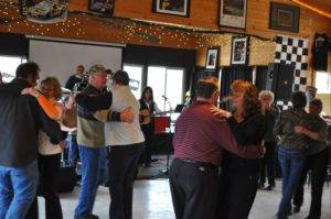 Bar Patrons Dancing