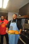 2011-11-04-kyle-and-gilbert-brown-preparing-the-gilbert-brown-burger-7