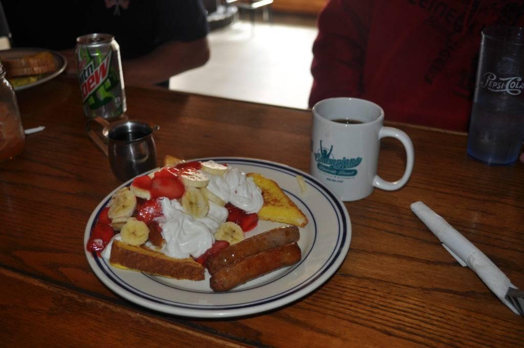 Tasty French Toast Breakfast