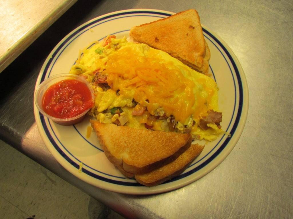 Yummy Omelette Breakfast