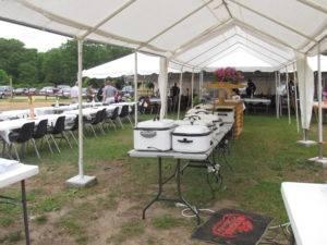 Wedding Banquet Table Setup